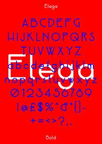 Elega Specimen (Red) by Neal Fletcher