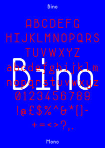 Bino Specimen (Blue) von Neal Fletcher