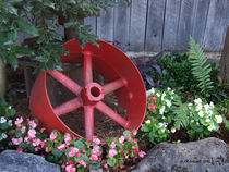 Big Red Wheel von © CK Caldwell