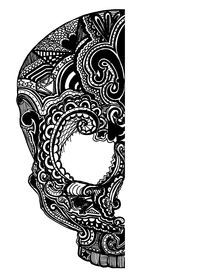 Skull von Vanessa Kerr