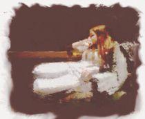 Angel in Armchair von balrond
