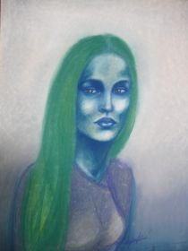 The Blue Woman by tylee vavra