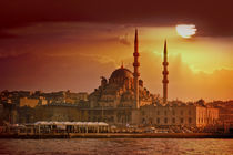 Istanbul sunset by Anna Minina