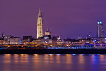 Antwerp night by Anna Minina