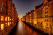 Speicherstadt Hamburg von Manfred Hartmann