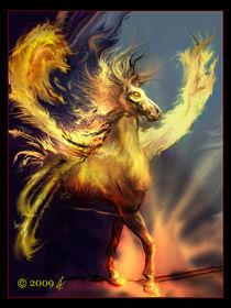 Fire elemental by richard turgeon