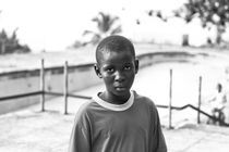 Portrait of a boy by Ervin Bartis