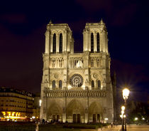 Notre Dame de Paris von Anna Minina