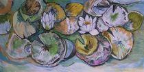 Lotus (Seerosen) by Myungja Anna Koh