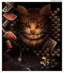 Cheshire cat by Alena Arsenteva