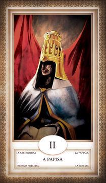 TAROT - card # 02 - a papisa von Anderson Almeida