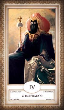 TAROT - card # 04 - o imperador von Anderson Almeida