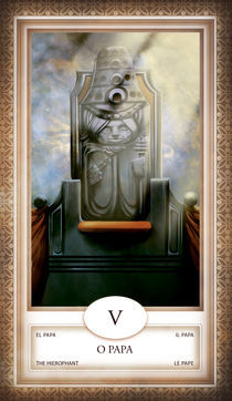 TAROT - card # 05 - o papa von Anderson Almeida