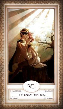 TAROT - card # 06 - os enamorados von Anderson Almeida