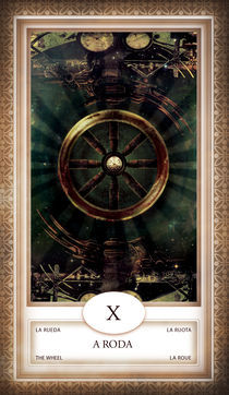 TAROT - card # 10 - a roda von Anderson Almeida