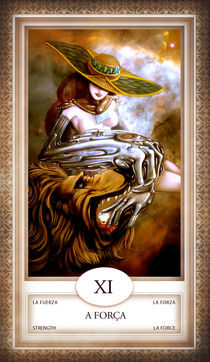 TAROT - card # 11 - a força by Anderson Almeida