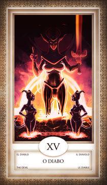 TAROT - card # 15 - o diabo von Anderson Almeida