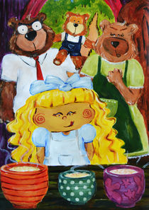 Goldilocks and the Three bears by Chia Rubio