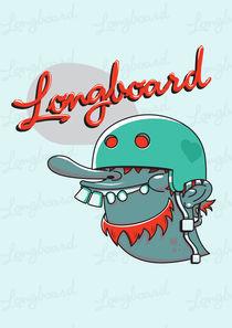 Longboard von pahito