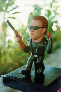 Inspired Terminator Sculpture von Joaquin Carrasquilla