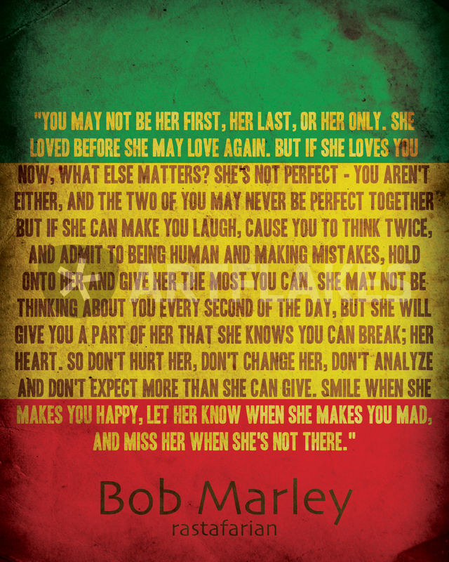 Rasta Love Quotes Captivating 60 Bob Marley Quotes On Life Love And Amazing Rastafarian Quotes About Love