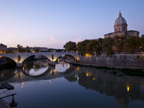 Tiber river by Marco Poggioli