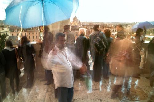 Vu-cumpra-ombrello