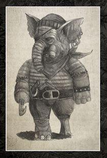 Elephant pirate von Jaroslaw Wasilewski