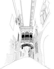 Gothic Barcelona by Victoria Hernandez