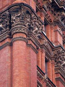 New York building detail by Victoria Hernandez