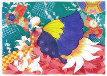 Kitsune Family by Carmen Hevia