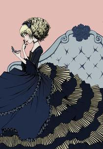 Little Bluetail von Carmen Hevia