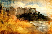 Die alte Stadt am Mittelmeer (Sperlonga) von Mathias May