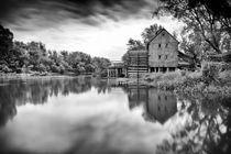 Watermill in Jelka von Zoltan Duray