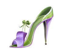 Shoe Fleur 01 von Michel Tcherevkoff