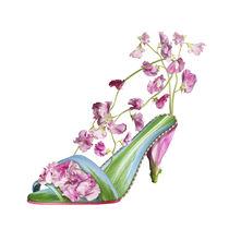 Shoe Fleur 03 by Michel Tcherevkoff