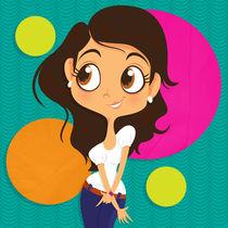 Cute Girl by Aida Sofia Barba Flores