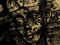 Kopf der Sphinx by Cloude Vigal << Grafiknaturearts