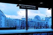 Blick auf den Reichstag von Christian Behring