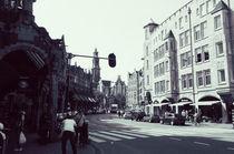 amsterdam streets von Rebekah Campbell