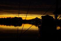 Sunrise, North Portland Harbor von David Fouch