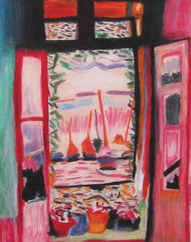 Copy of Matisse's Open Window by rikki-almanza