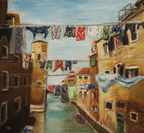 Hanging Clothes by rikki-almanza