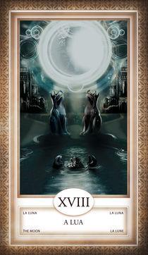 TAROT - card # 18 - a lua by Anderson Almeida