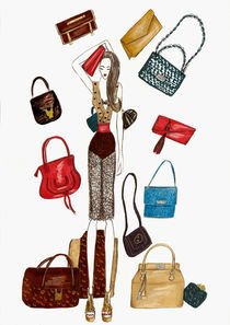 Raing of bags by Vanessa Datorre