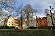Stadtlandschaft mit Fernsehturm by captainsilva