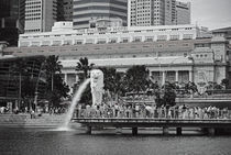 Singapore in black and white by Florence Uy