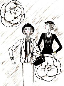 """Gabrielle Bonheur """"Coco"""" Chanel von Vanessa Datorre"""
