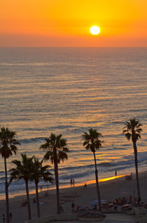 Oceanside Sunset von Philip Cozzolino