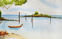 Beach in Malaysia by cloudrious